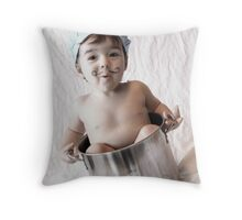 You're Invited to Dinner! Throw Pillow
