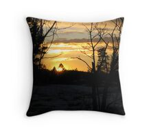 Drumheller Springs Throw Pillow