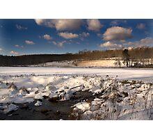 frozen warm Photographic Print