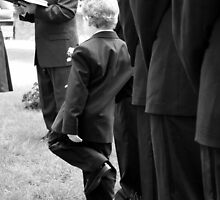 Bored Ring Bearer by Taylor Sawyer