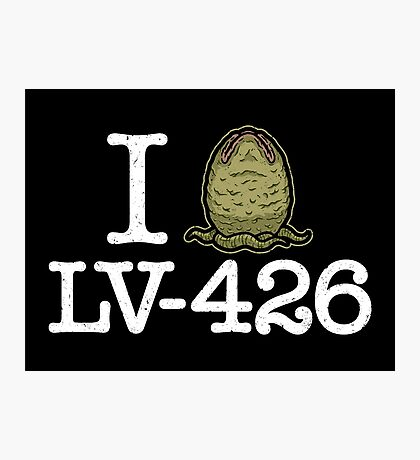 I Love LV-426 Photographic Print