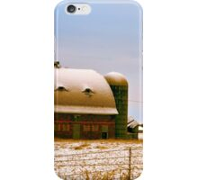 Disposed With Snow iPhone Case/Skin
