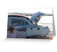 1950 Cadillac Greeting Card