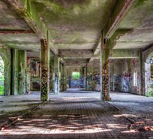 Brenton Point Stables Abandoned 3 by Joshua McDonough Photography