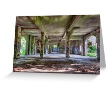 Brenton Point Stables Abandoned 3 Greeting Card