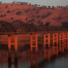 Bethanga Bridge by David  Piko