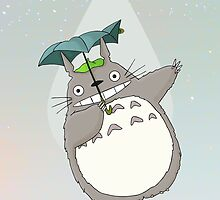 Totoro by galaxytimes