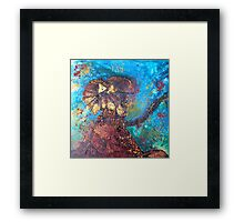 King of the Termite Mound Framed Print