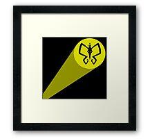 Monarch Signal! Framed Print
