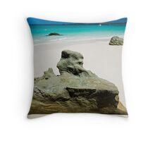 Betty's Beach, Whitsundays Throw Pillow