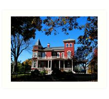 Home of author Stephen King Art Print