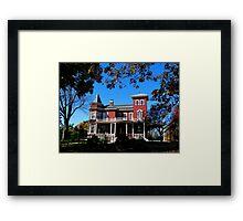 Home of author Stephen King Framed Print
