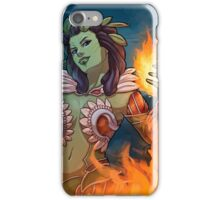 Terrene Odyssey - Skybloom the Fireflower iPhone Case/Skin
