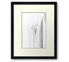 Traces - Book Framed Print