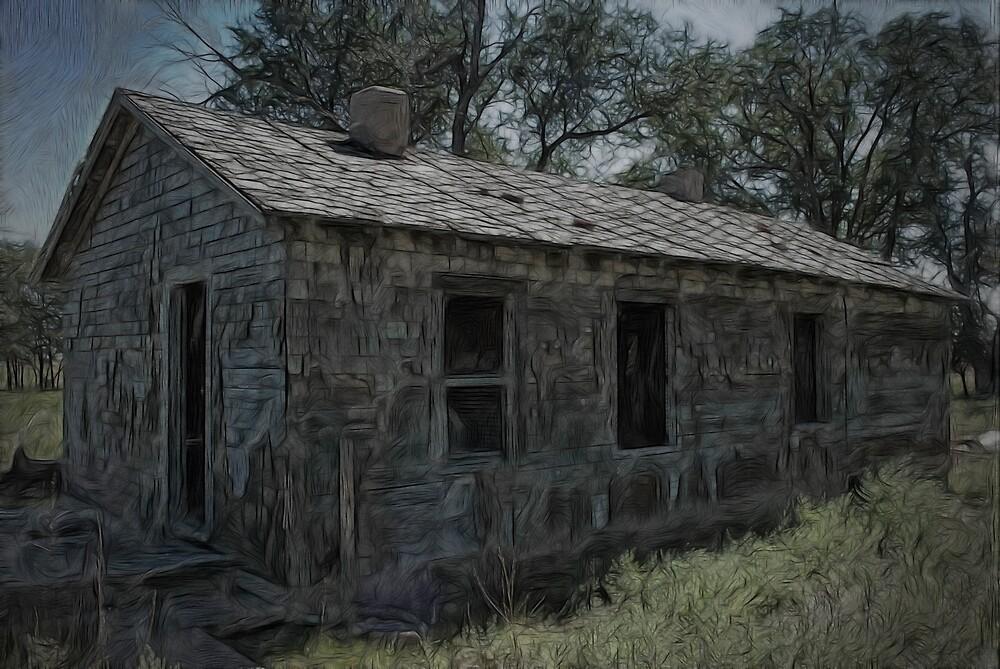 Melted Old House by thegrizz15