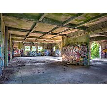 Brenton Point Stables Abandoned Photographic Print