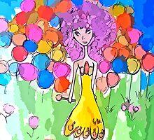 princess lollipop candyland by shesxmagic