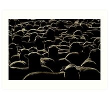 Like a lot of lost sheep Art Print