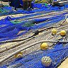 Mending The Nets.....................................Majorca by Fara