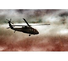 Military Copter Photographic Print