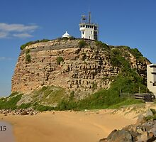 NOBBYS LIGHTHOUSE by Phil Woodman