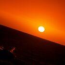 SEA MAN POINT AT SUN  by Niiso
