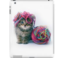 Yarn Hat iPad Case/Skin