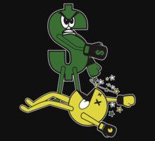 Money KO's Pac Man by EthosWear