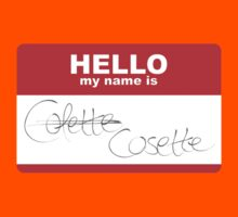 HELLO my name isn't Colette Kids Tee