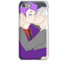 Cute Nerd Kiss iPhone Case/Skin