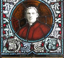 Memorial Panel (Fr Charles Donnelly) by Jeffrey Hamilton