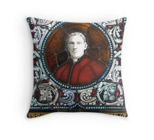 Memorial Panel (Fr Charles Donnelly) Throw Pillow