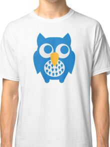 Cute blue owl Classic T-Shirt