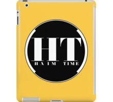 HAIM TIME (White Backing) iPad Case/Skin