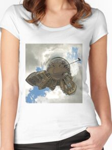 Foyle Days Festival -  at Timber Quay Women's Fitted Scoop T-Shirt