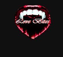 Love Bites: In Red Mens V-Neck T-Shirt