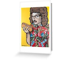 Weird Vincent Greeting Card
