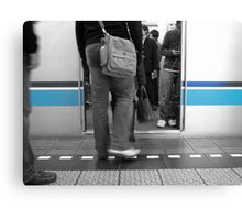 Metro Blue Canvas Print