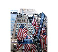 Avenue of the Americas Photographic Print