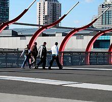 Spencer Street Bridge by OpenAllHours