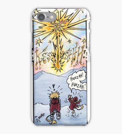"""Huzzah Huzzah"" Webcomic Starburst iPhone Case/Skin"