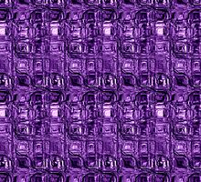 Purple Leaded Glass by Scott Mitchell