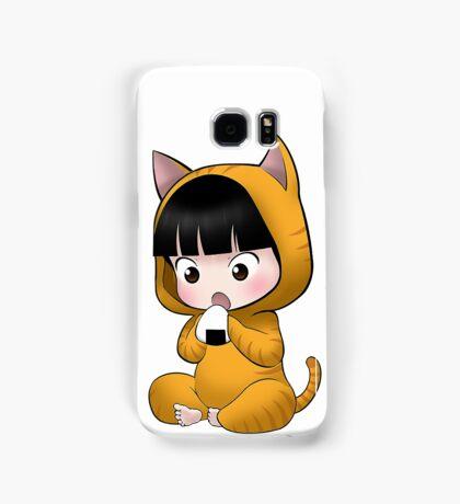 Chibi Yuzuru kitty Samsung Galaxy Case/Skin