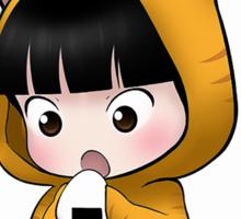 Chibi Yuzuru kitty Sticker