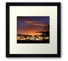 Color love Framed Print