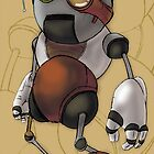 Little Robot Boy 5 by Angelo Gines Jr.