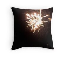 port fairy fireworks on new years eve... Throw Pillow