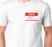 HELLO my name is Javert Unisex T-Shirt