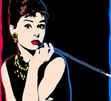 Audrey Hepburn at Tiffany's by swelina