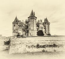 Enchanted Antique Castle by Joshua McDonough Photography